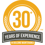 Over 30 years experience in building maintenance